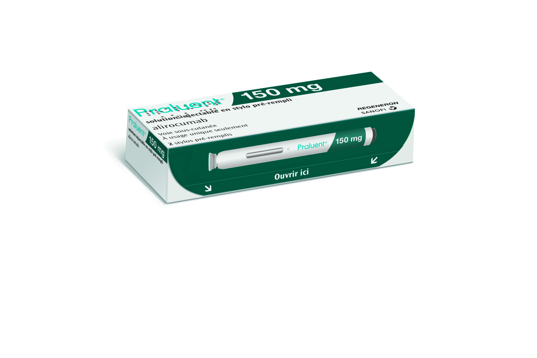 Image PRALUENT 150 mg S inj en stylo prérempli 2Stylo/1ml