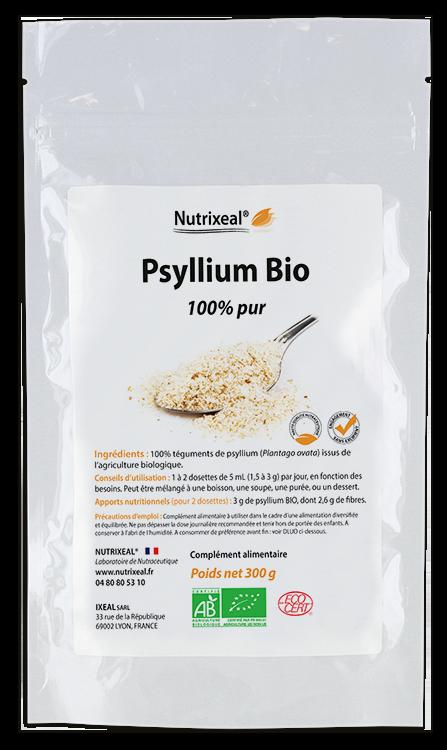 Image NUTRIXEAL Psyllium Bio tégument Flocon Sach/300g