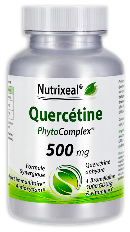 Image NUTRIXEAL Quercétine anhydre Phytocomplex Gél Fl/30