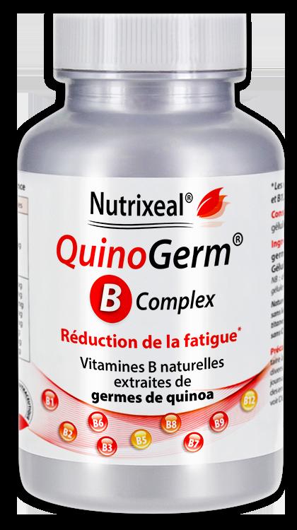 Image NUTRIXEAL QUINOGERM B Complex Vitamines B Gél Fl/60