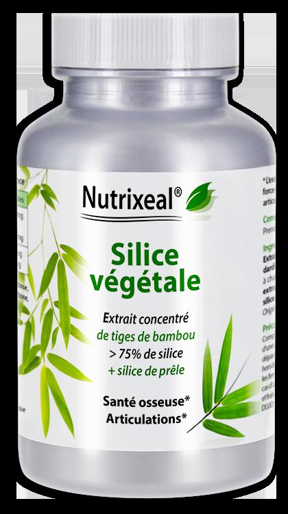 Image NUTRIXEAL Silice végétale Bambou Prêle Gél Fl/60