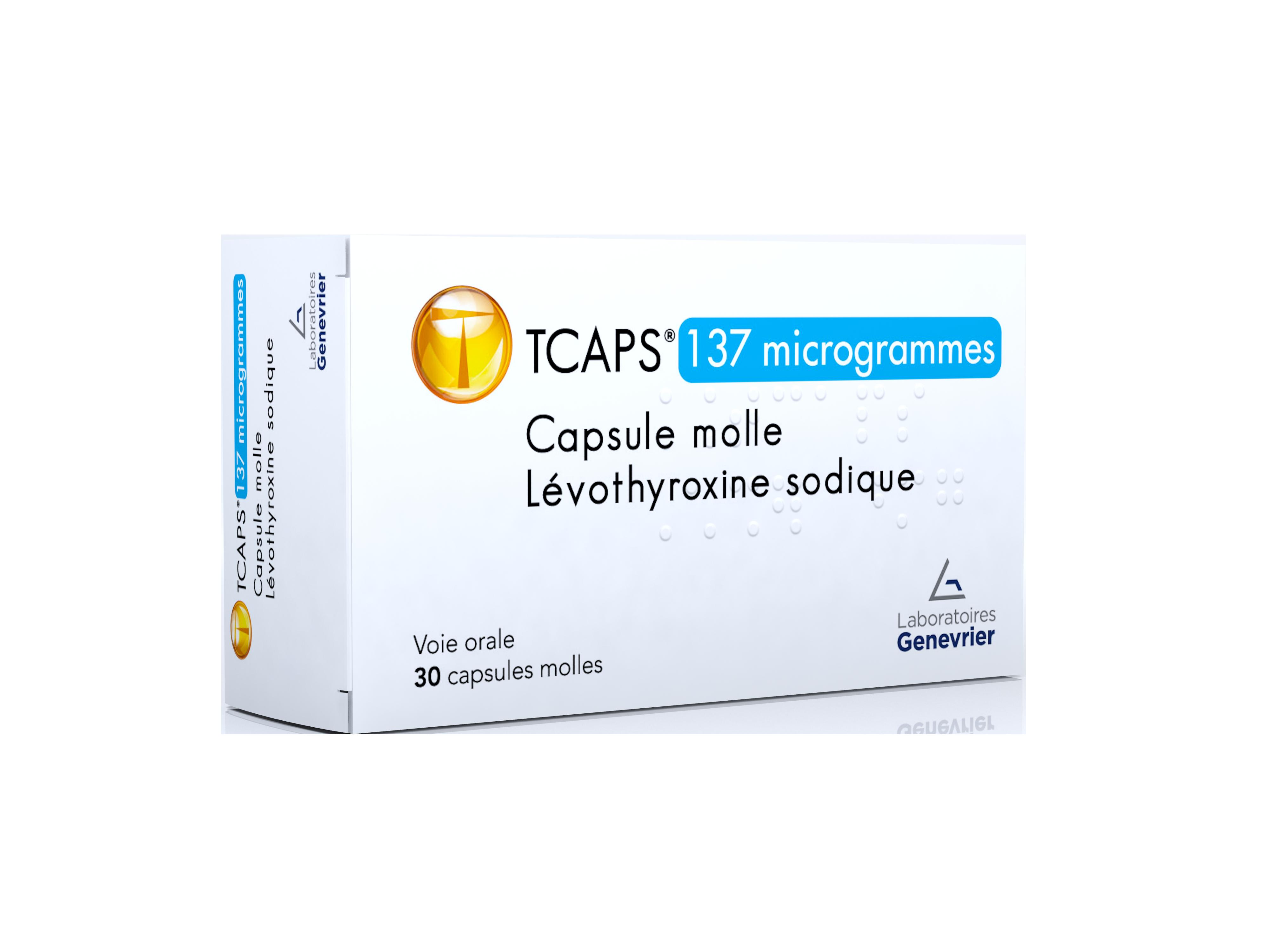 Image TCAPS 137 µg Caps molle Plq/30