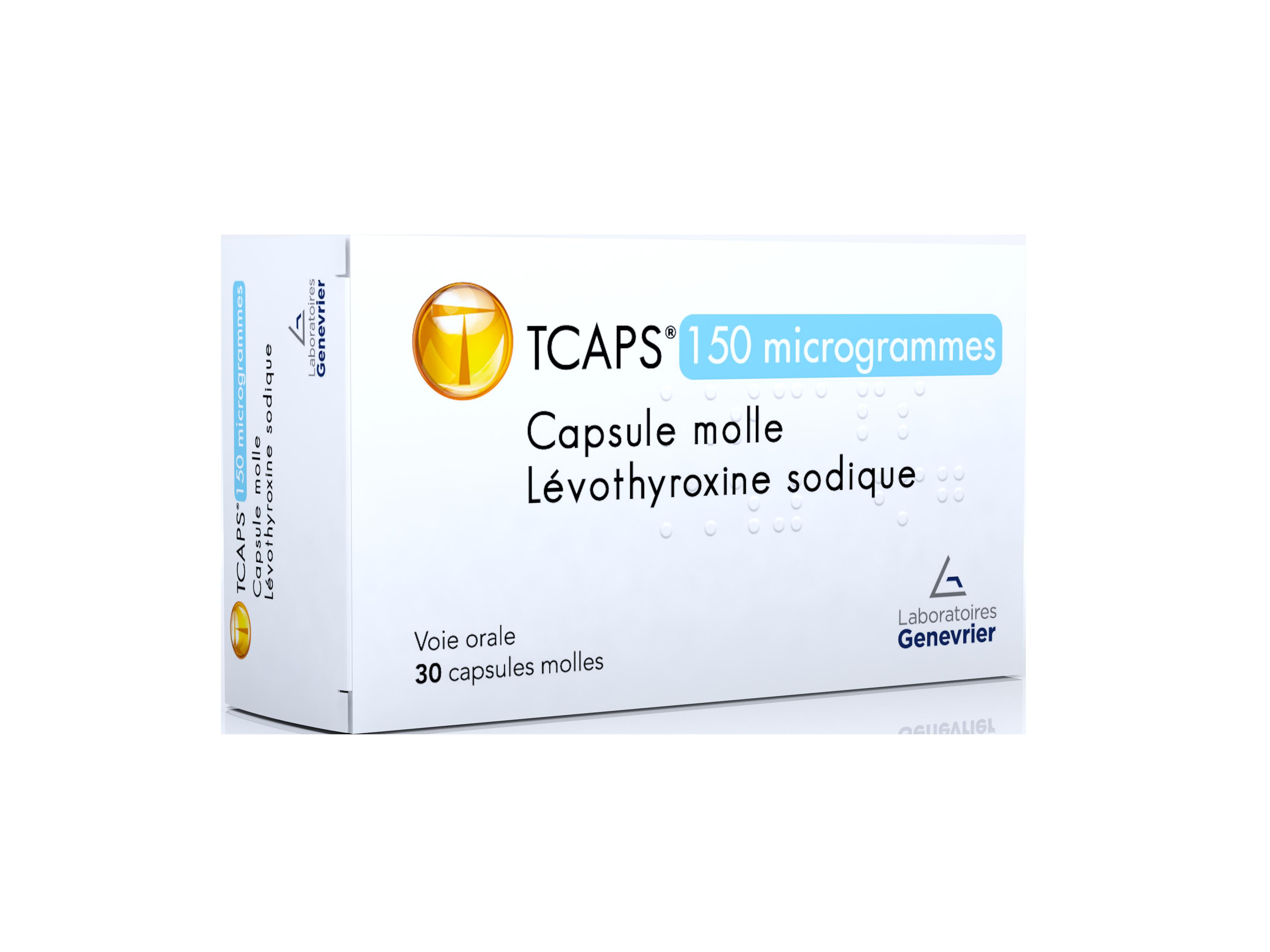 Image TCAPS 150 µg Caps molle Plq/30