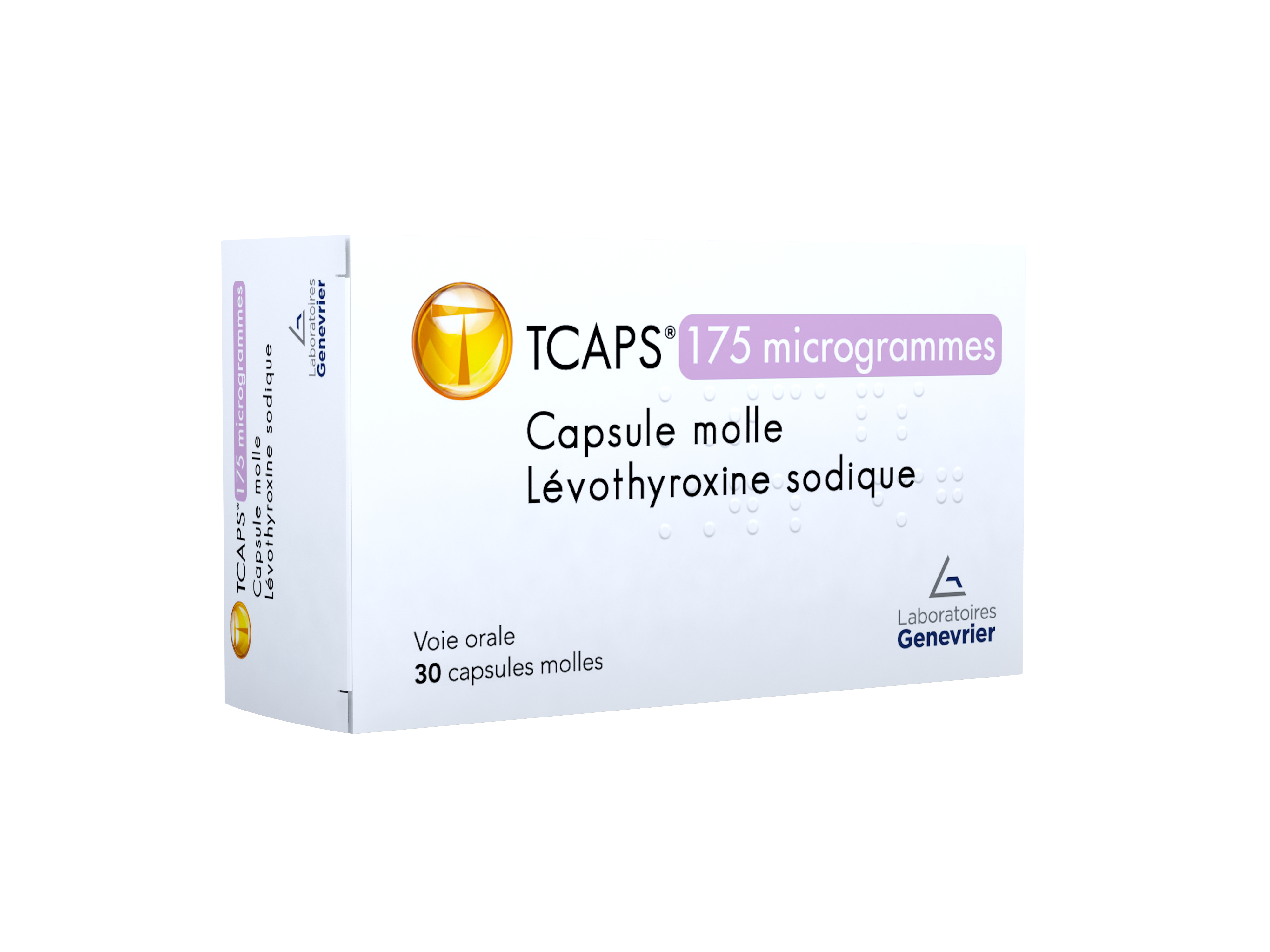 Image TCAPS 175 µg Caps molle Plq/30