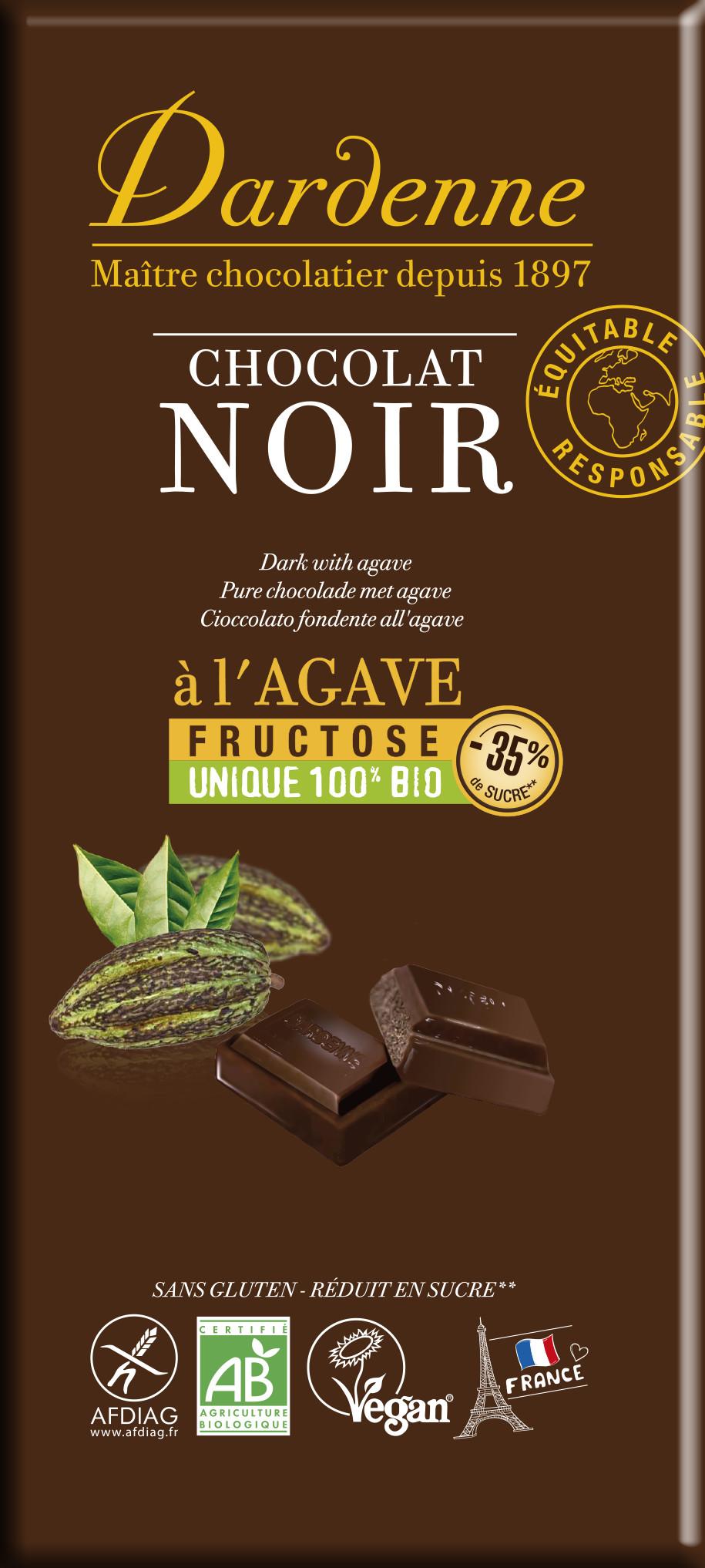 Image DARDENNE chocolat noir au fructose