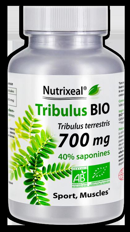 Image NUTRIXEAL Tribulus terrestris Bio Saponines Gél Fl/90