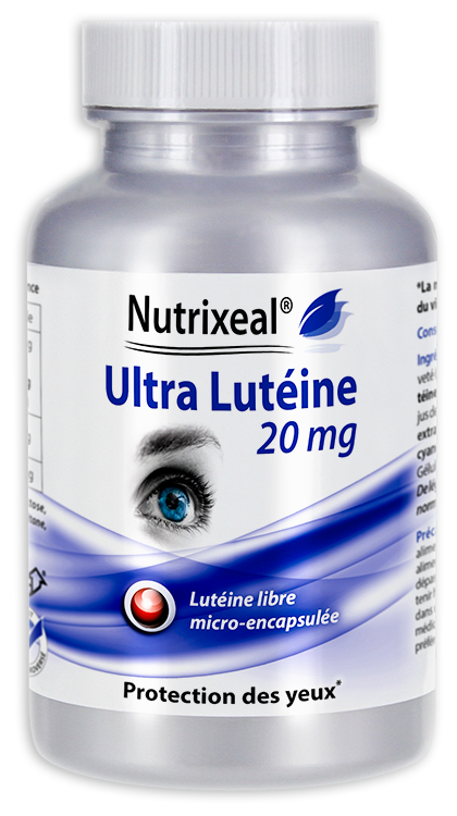 Image NUTRIXEAL Ultra Lutéine Gél Fl/60