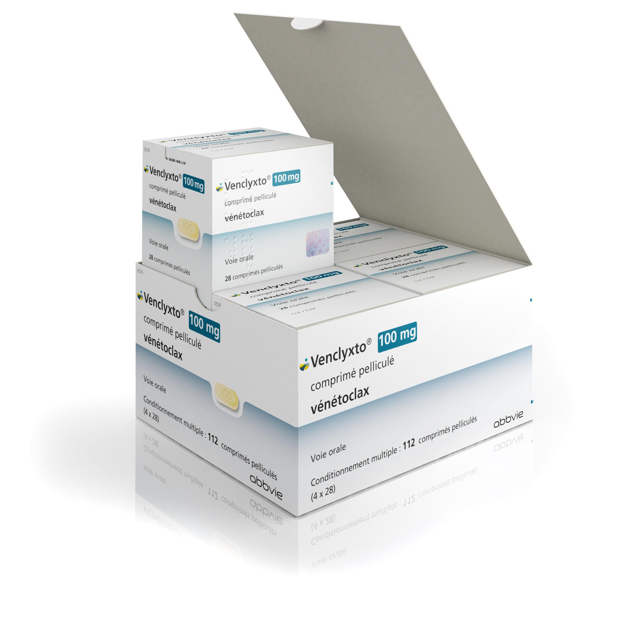 Image VENCLYXTO 100 mg Cpr pell Plq/112 (4x28)