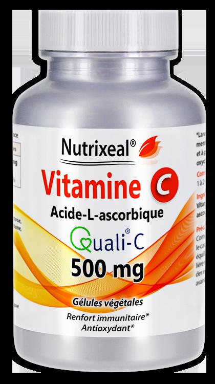 Image NUTRIXEAL VITAMINE C QUALI C Acide ascorbique Gél Fl/60